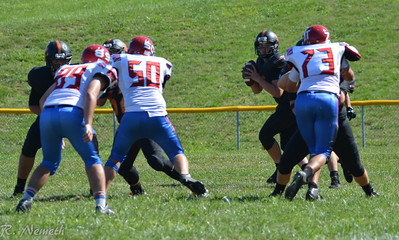 Waverly JV Football vs ZT - September 3, 2016
