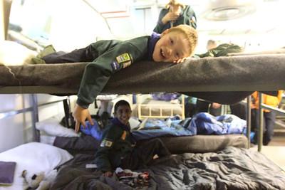 "2013 - Cub & Scout Sleepover at Kelvedon Hatch ""Secret"" Nuclear Bunker"