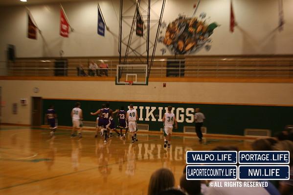 VHS JV Boys Basketball vs Hobart 2011