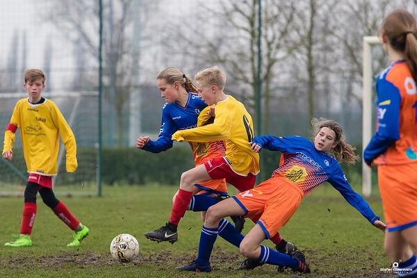 06/01/2018: U15P KVV Laarne-Kalken - KAA Gent Ladies D