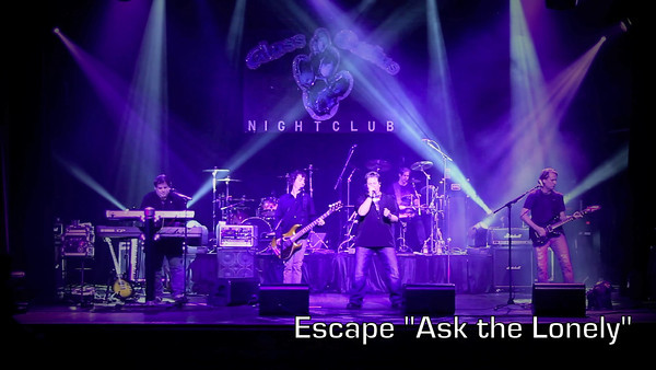 Escape @ Glass Cactus 11-9-11 Video Clips