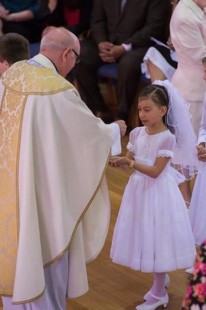 Ola's First Communion- 4.27.13