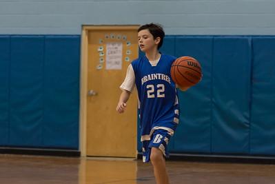 12/16/17 8A Boys Basketball:  Braintree vs Plymouth