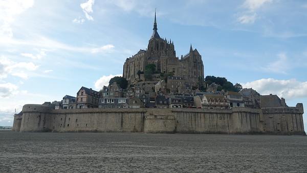 Mont Saint Michel, Sept. 17, 2021