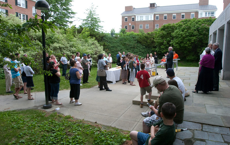 Day 3 - The Education Department reception at Sudikoff Patio