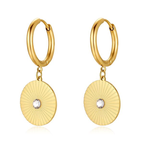 Rivera earring, Gold