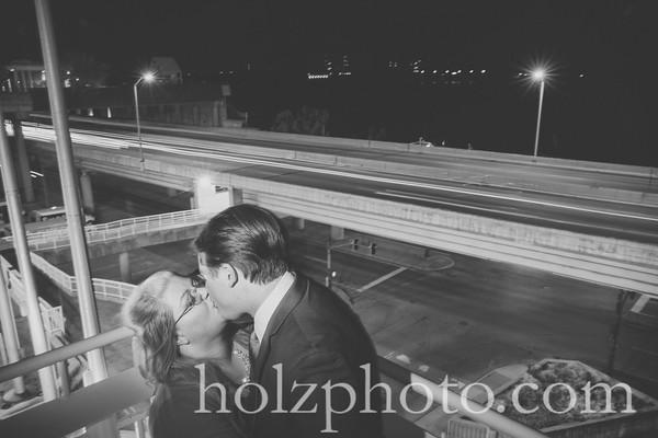 Lindsay & Ben B/W Wedding Photos