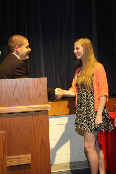 Awards Night 2012: Student of the Year: Business Management
