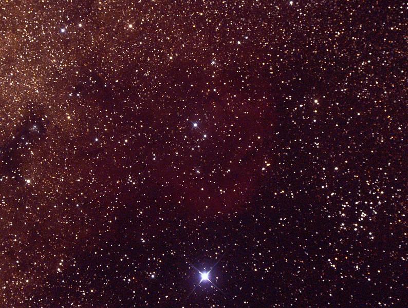 Gum69 - Nebula in Scorpius - 23/9/2014 (Processed cropped single test image)