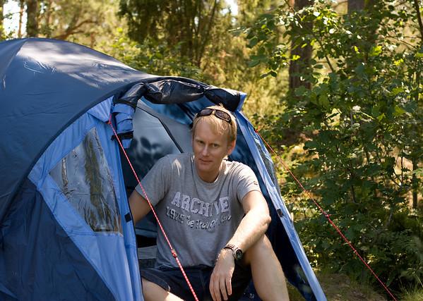 Camping Läckö Juni 2009