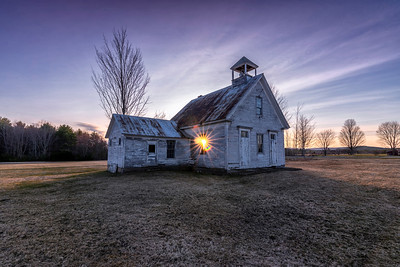 Maple Ridge Schoolhouse, Harrison, ME