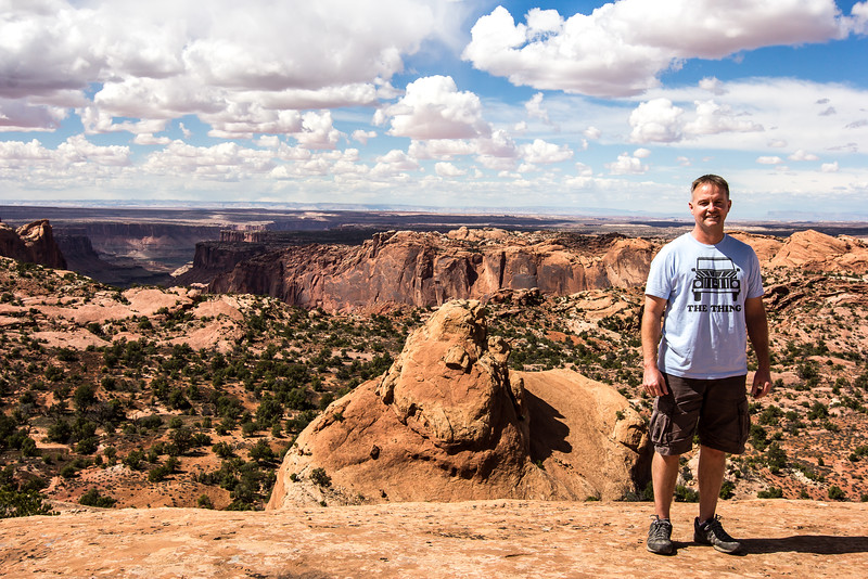 Whale Rock and Upheaval Dome