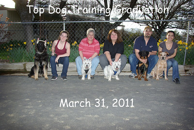 Top Dog Training March 31, 2011