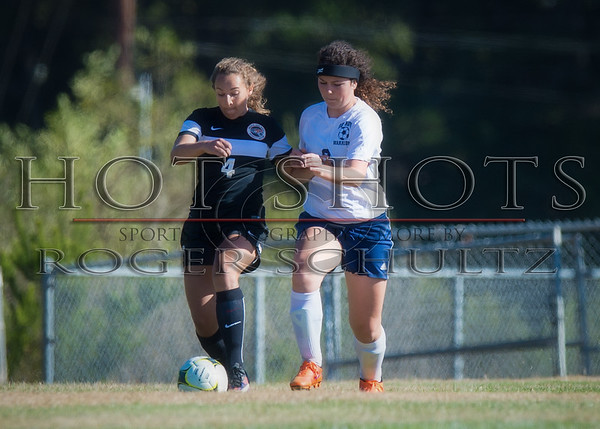 Girls Soccer (second half) Arcata @ Del Norte 09-07-16