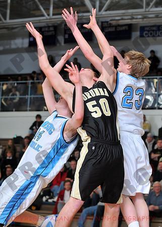 Boys Varsity Basketball - Corunna at Lansing Catholic - Jan 29