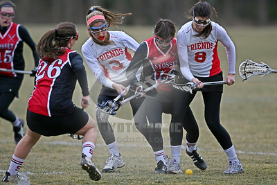 3/22/2013 (Girls) - Syosset vs. Friends Academy - Friends Academy, Locust Valley, NY