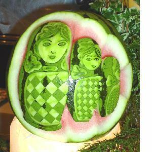 Art on Water Melon