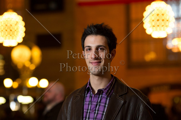 Evan Z. in Grand Central Station