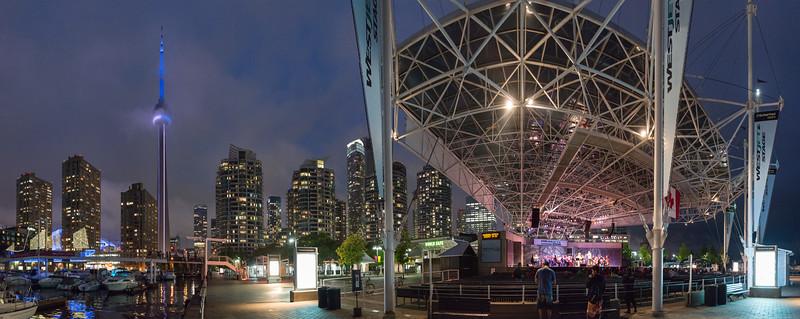 Harbourfront - Toronto, Ontario Canada - August 10, 2015