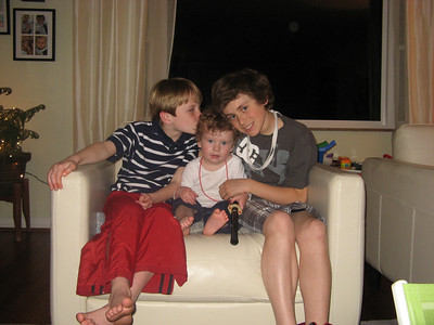 Tino, Ethan & Luke Together