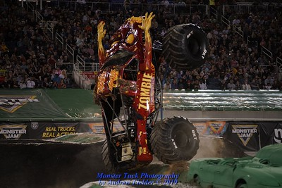 2019 Orlando Monster Jam - Racing & Two Wheel Competition