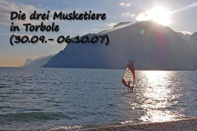 Die drei Musketiere am Gardasee
