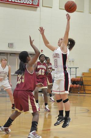 2011-02-03 BHS JV Women's Basketball VS Harding