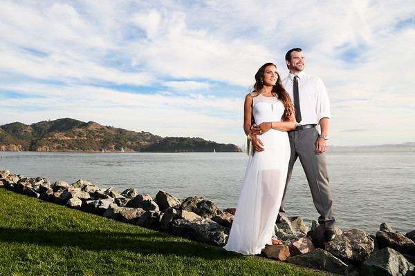 Evy and James' Tiburon Wedding