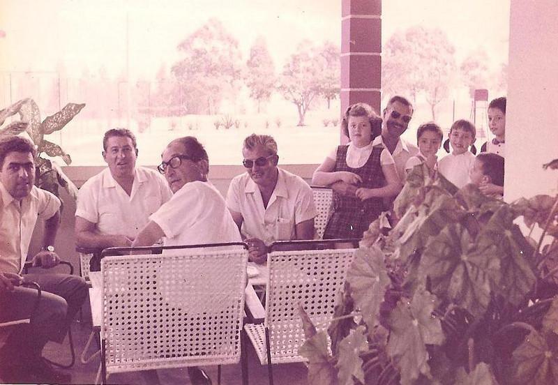 ...?, Tavares, Julio da Conceição, ...?, Pinho Barros e filhas do Medina