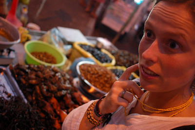 Delicacies in Phnom Penh