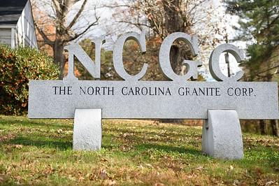 North Carolina Granite Corporation, November 20, 2018