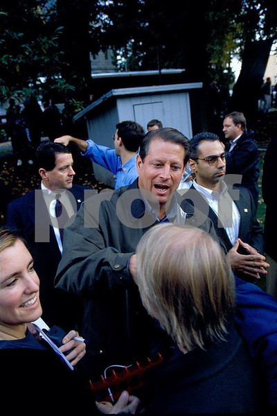 Al Gore, Nov. 2, 1998, Olympia, WA