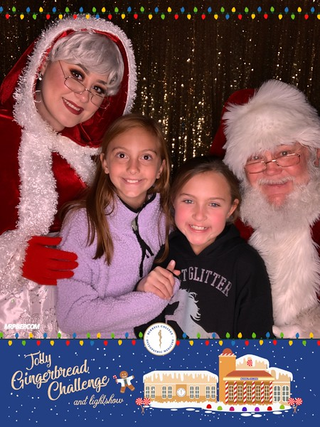 BCOM Pictures with Santa