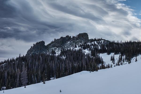 Notchtop Mountian - Rocky Mountain National Park