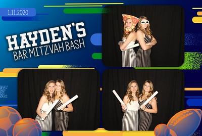 Hayden's Bar Mitzvah Bash! - The Woodlands - 1.11.2020