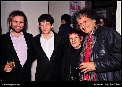 Baris Saribas Trio Art Group Opening
