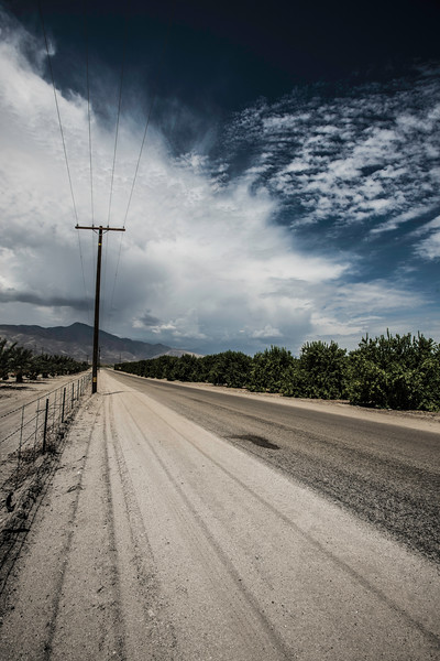 Road to the Salton Sea