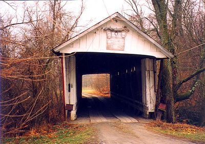 Trader's Point Covered Bridge