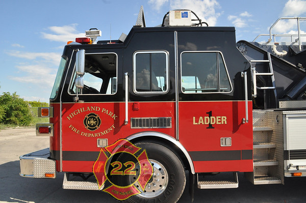Highland Park Michigan - New Refurbished Sutphen Tower Ladder