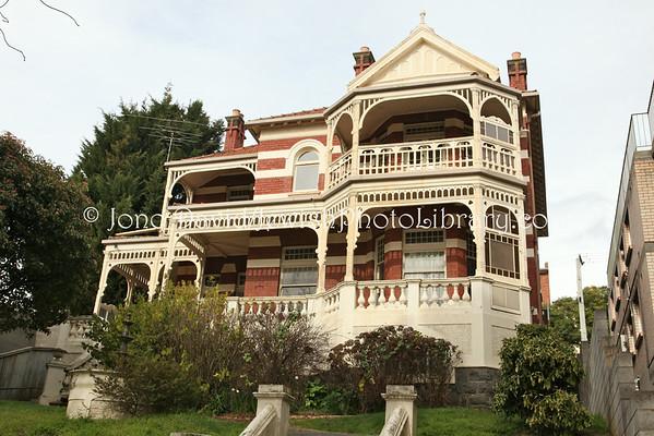 AUSTRALIA, Tasmania, Launceston. Chabad House. (8.2010)
