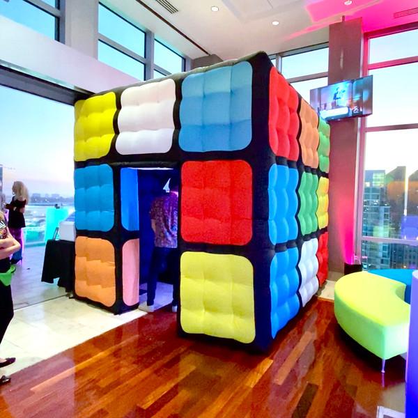 Rubiks Cube Photo Booth - 80s Corporate Event - DVT - CEG Interactive.jpg