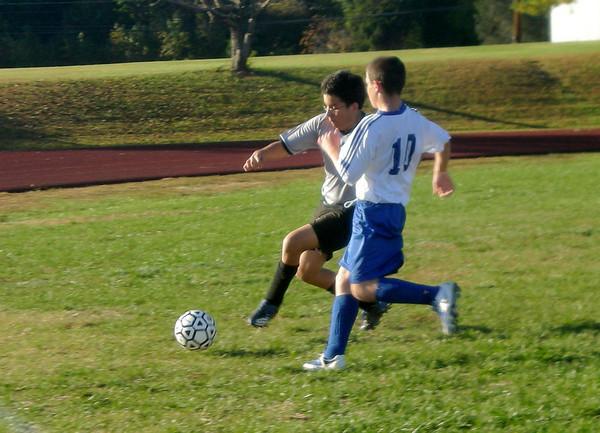 Soccer vs. The Field School