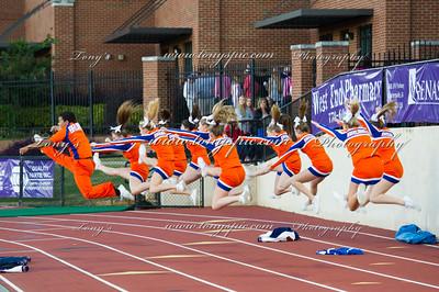 Cheerleaders @ Cartersville 16 Oct 20