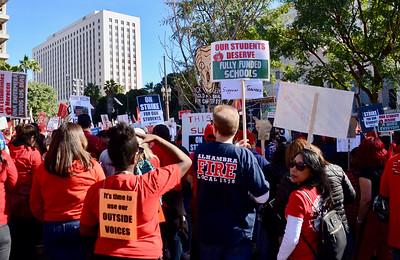 Teachers' Strike Celebration Rally