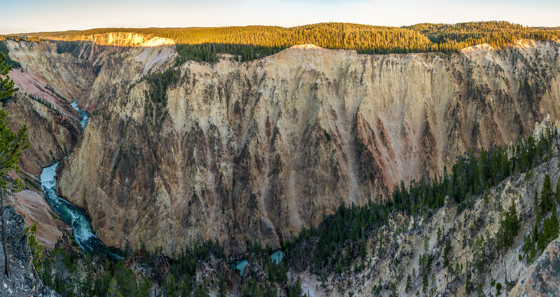 The Grand Canyon of Yellowstone, Yellowstone National Park, Wyoming
