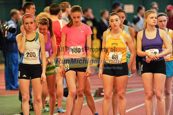 Girl's 3200M Run - 2012 MITS Finals