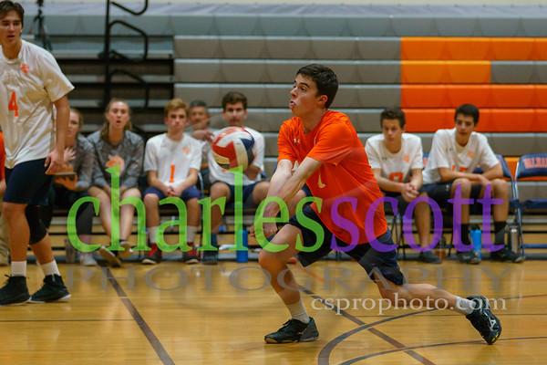 Valhalla Boys Volleyball