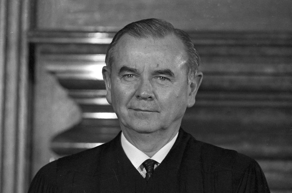 . Associate Justice William J. Brennan Jr. of the U.S. Supreme Court is pictured in Washington, D.C., Nov. 22, 1965. (AP Photo/Harvey Georges)