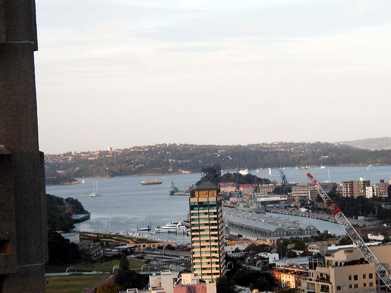 Now it is easier to find the Manyly Ferry in this view of Sydney Bay