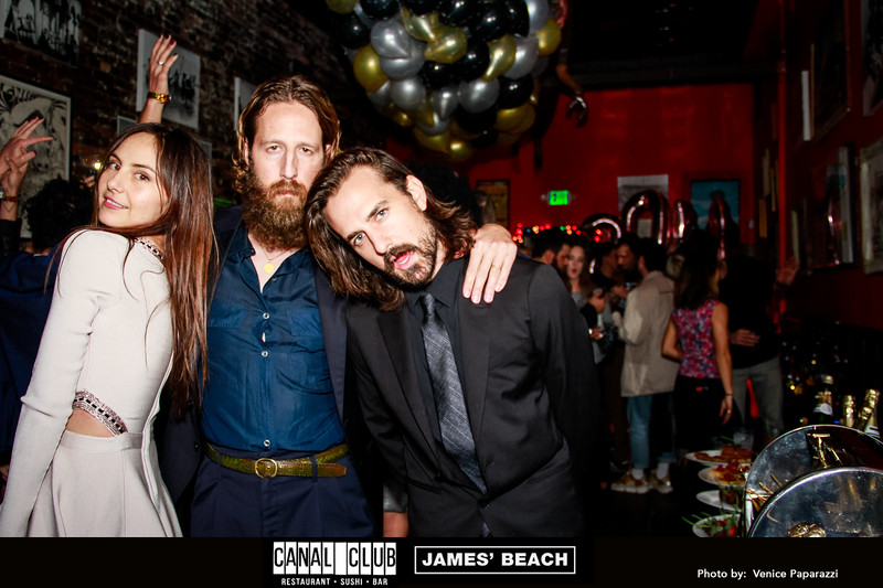 NYE at James' Beach and Canal Club. Venice, California.   Photo by Venice Paparazzi